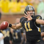 Blaine Gabbert led Missouri to an impressive victory over Illinois in his debut