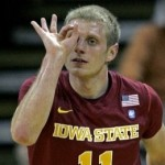 2010-11 Basketball - Iowa State Cyclones 75 Iowa Hawkeyes 72