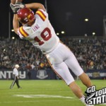 Josh Lenz  threw for a touchdown and led ISU with 6 receptions