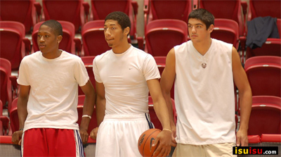 Iowa State Cyclones Hosts Key Basketball Recruits: Photo Gallery