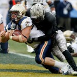 Donovan Travis is Army's playmaker on defense