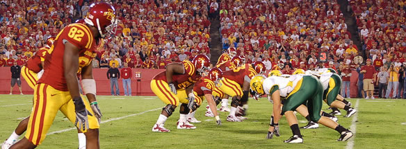Iowa State Spread Offense Is Moving The Football Well So Far