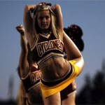 The Iowa State cheerleaders had plenty to cheer about last Saturday