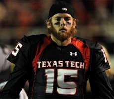 Taylor Potts threw for 456 yards and 7 TD's against Rice, will he be cast in the Teen Wolf 3?