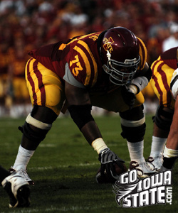 It will be the final home game for 23 Iowa State seniors including Reggie Stephens