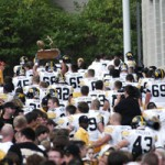 Iowa Takes the Cy-Hawk Trophy Back to Iowa City
