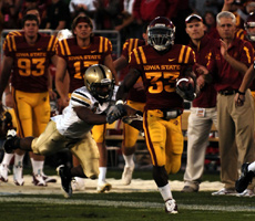 Iowa State hopes to have the Big Twelves leading rusher, Alexander Robinson, back in the lineup Saturday