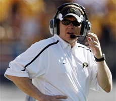 Will Dan Hawkins future be decided before the Buffs take on the Cyclones?