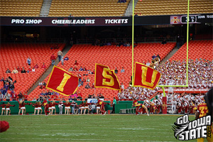 Iowa State fans need to pack Arrowhead next year - alot of fans came dressed as empty seats this year