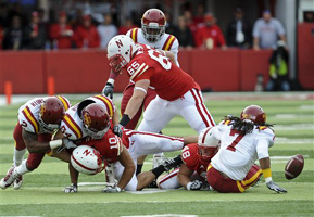 Iowa State recovers their first fumble - the Cyclones would go on to recover a total of five