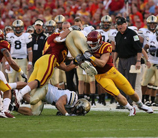 Iowa State's kick coverage was excellent against Army and will be key against K-State