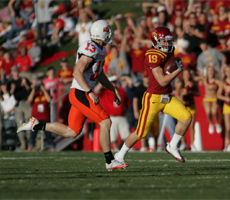 Keep your eye on Josh Lenz in the return game on Saturday