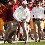 Paul Rhoads is the first ISU coach to win six games in his initial season since 1915