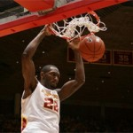 Laron Dendy and Iowa State was overmatched by a talented Jayhawk squad
