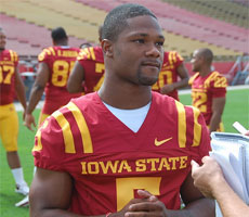 Shontrelle Johnson will get a chance to play early for the Cyclones