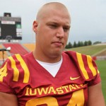 Jake McDonough should be a breakout player this year for Iowa State, he has been a load to handle in fall camp by all accounts