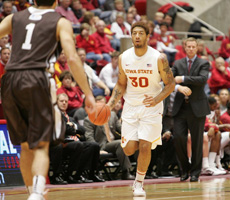 ISU Cruises in Opener over Lehigh (Picture Gallery)