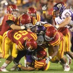 The Iowa State defense held the Leathernecks to just 3 points.