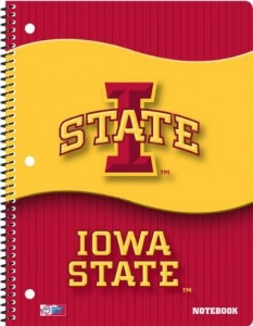 Iowa State Cyclones Notebooks