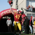 A.J. Klein had 14 tackles in his final game at Jack Trice Stadium
