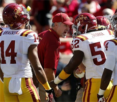 Paul Rhoads with Iowa State